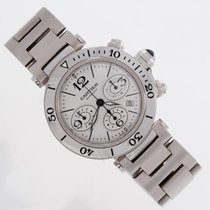 Cartier Pasha Seatimer Chronograph unworn box and papers