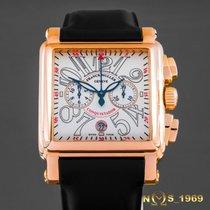 Franck Muller Conquistador Cortez Chronograph 18K PINK GOLD 41...