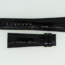 Zenith Lederband / Alligator / Schwarz-23/18 Länge 115/75