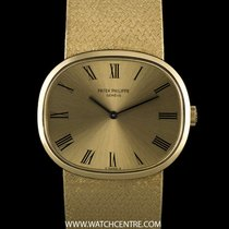Patek Philippe 18k Yellow Gold Ellipse Vintage Gents Wristwatc...