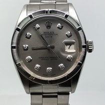 Rolex DATE 34MM AUTOMATIC VERY RARE VINTAGE DARK GREY DIAL