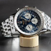 Breitling Navitimer Chronograph Steel A23322 mit Stahlband