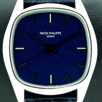 Patek Philippe Golden Ellipse 18kt White Gold, ref. 3585 from...