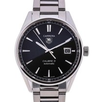TAG Heuer Carrera Calibre 5 Automatic 39 Black Dial