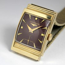 Longines Tank, 1961, vintage, Art Deco, Gold filled