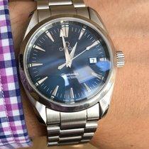 Omega Aqua Terra Seamaster Blue Dial