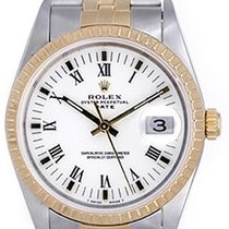 Rolex Date Men's Watch 15223 White dial