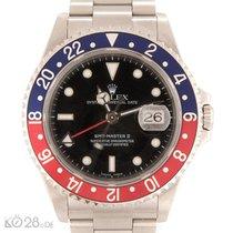 """Rolex GMT Master II 16710 """"Pepsi"""" Steel D-Series"""