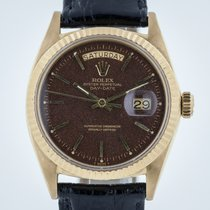 Rolex President Day-Date, 1803, 18K Yellow Gold, Rare Brown...