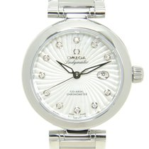 Omega De Ville Stainless Steel Silver Automatic 425.30.34.20.5...