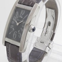 "Cartier ""American Tank"" Watch 18k White Gold (1713)..."