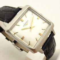 Longines cioccolatone acciaio orologio uomo carica manuale...