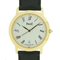Piaget Altiplano Chronometer In Oro Giallo E Pelle, 35mm G0a22134