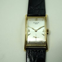 Patek Philippe 18k Hourglass ref. 1593 ,dates 1940's