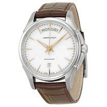 Hamilton Men's Jazzmaster Silver Dial Stainless Steel Watch
