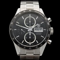TAG Heuer Carrera Calibre 16 Chronograph Stainless Steel Gents...