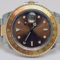 "Rolex 16713 - GMT MASTER II ""Tiger Eye"" - Full Set..."