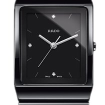 雷达 (Rado) Rado Ladies R21700702 Ceramica Quartz Watch
