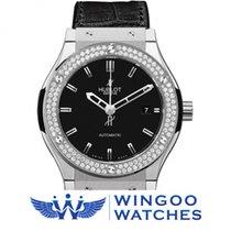 Hublot - Fusion Classic Titanium Diamonds Ref. 542.NX.1170.LR....