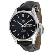 TAG Heuer Carrera Automatic Black Dial Mens Watch WAR201AFC6266