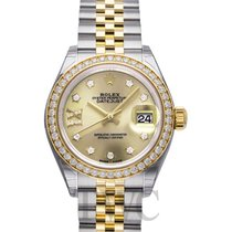 ロレックス (Rolex) Lady Datejust Champagne Steel/18k Yellow Gold...