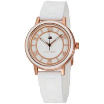Tommy Hilfiger Women's Quartz Gold And Silicone Casual...