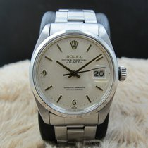 Rolex OYSTER DATE 1500 with Original White Dial with Raised 6...