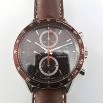 TAG Heuer Carrera Calibre 16 41mm brown CV2013 Chronograph...
