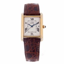 Cartier Must de Cartier Tank Ladies Vermeil Watch 2413...
