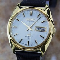 Seiko LM Men's Japan Made 5606 7000 Mens Automatic Gold...