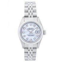 Rolex Ladies Datejust 69160 Stainless Steel Watch