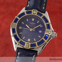 Breitling Lady J Class Stahl / Gold Damenuhr Top D52063