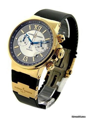 Часы ulysse nardin marine chronograph 356 66