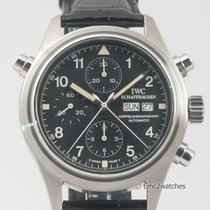IWC Pilots Doppelchronograph Rattrapante Chronograph 3713