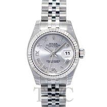 롤렉스 (Rolex) Lady Datejust Silver/Steel 26mm Jubilee - 179174