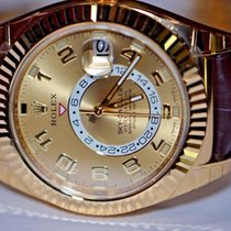 Rolex Sky Dweller 18K Solid Yellow Gold