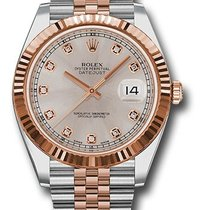 Rolex Unworn 126331SUDJ Datejust 41mm - Steel an Rose Gold -...