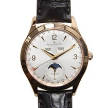 Jaeger-LeCoultre Master Ultra Thin 18k Rose Gold Silver...