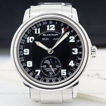 Blancpain 2763-1130MA-71 Leman Complete Calendar Black...