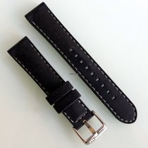 Black Rubber strap 20mm