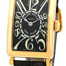 "Franck Muller Lady's 18K Yellow Gold  ""Long Island"""