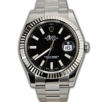 Rolex Datejust II 41mm - Steel and Gold White Gold REF: 116334