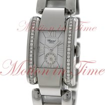 Chopard La Strada Ladies, White Dial, Diamond Bezel - Stainles...