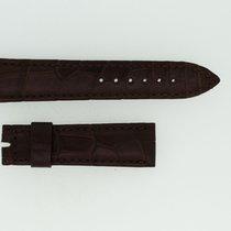 Breguet Lederband / Alligator / Braun - 18/16  Länge 100/60