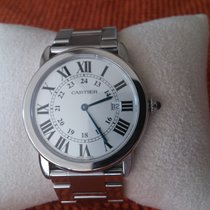 Cartier RONDE SOLO GM CUARZO ACERO
