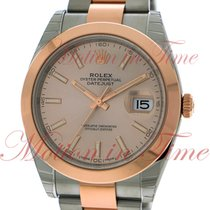 Rolex Datejust 41mm, Sundust Dial, Domed Bezel - Stainless...