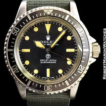 劳力士  (Rolex) 5513 Submariner Military Steel Automatic
