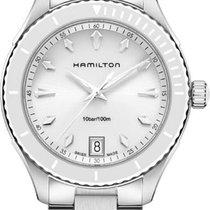 Hamilton Jaszzmaster Seaview H37411911 Damenarmbanduhr Mit...