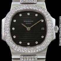 Patek Philippe Lady's Nautilus 4700/5 Unpolished Platinum...