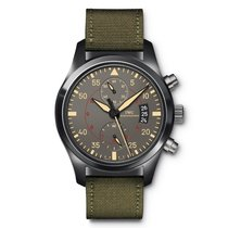 IWC Pilots Watch Chronograph Miramar Anthracite Dial Automatic...
